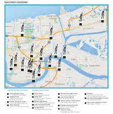 Downtown New Orleans Map by Evacuspots And City Assisted Evacuation U2014 Evacuteer