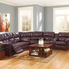 Burgundy Living Room by Kennard 3 Piece Motion Sectional U2013 Jennifer Furniture