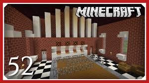Minecraft Interior Design Minecraft More Bank Interior Design Part 5 E052 Vanilla