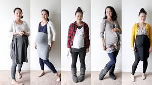 winter maternity clothes nesting diy maternity photo shoot
