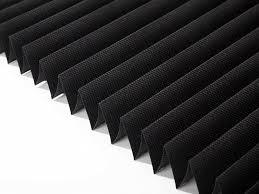 amazon com sunfree 3 pack light filtering pleated fabric shade