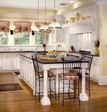 Decorating Above Kitchen Cabinets Pictures Benjamin Moore Wolf Gray A Blue Grey Painted Kitchen Cabinets With