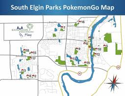 Elgin Illinois Map by S Elgin Parks U0027play U0027 Pokemon Go Too Elgin Courier News