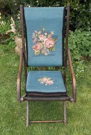 Victorian Upholstered Chair Victorian Upholstered Campaign Chair Antiques Atlas