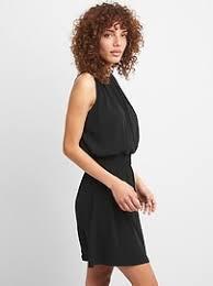 halter dress smocked waist halter dress gap