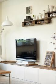 transform an ikea cabinet into a chic media console