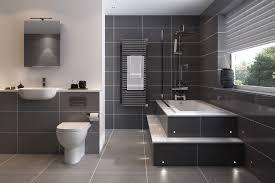 Light Grey Tiles Bathroom Bathroom Tiles