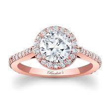 gold halo engagement rings barkev s gold halo engagement ring 7933lp