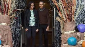 the obama s obamas celebrate halloween at the white house