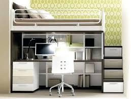 Dresser Desk Combo Ikea Desk Carter Low Loft Bed With Dressers Bookcase And Desk Bed