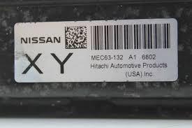 white nissan sentra 2006 2006 nissan sentra 1 8 ecu ecm engine computer mec63 132 a1 xy ebay