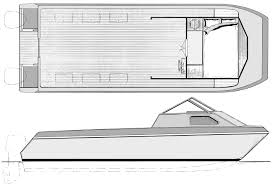 Free Wooden Boat Plans Plywood by Bear Cat Cuddy Cabin Power Catamaran Boat Plans You Can Build