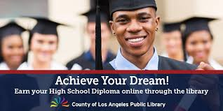 can you finish high school online la county library on it s never late your library