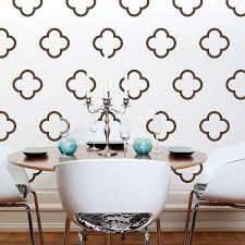 moroccan style vinyl wall decals moroccan quatrefoil bubbles 30 moroccan style vinyl wall decals moroccan quatrefoil bubbles 30 graphics sticker wallpaper item 10027