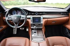 2014 maserati quattroporte interior 2014 maserati quattroporte s q4 stock 7146 for sale near great