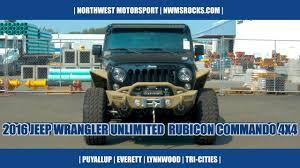 2016 jeep wrangler unlimited rubicon commando 4x4 youtube