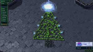 starcraft 2 art christmas tree hd youtube
