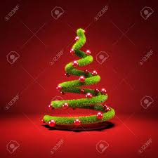 modern symbolic christmas tree 3d render stock photo picture and