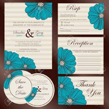 Wedding Invitations And Rsvp Cards Together 330 994 Wedding Invitation Stock Illustrations Cliparts And