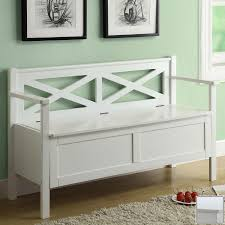 shop monarch specialties white indoor entryway bench at lowes com