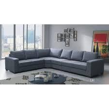 canapé d angle 6 places lili gris angle gauche achat vente