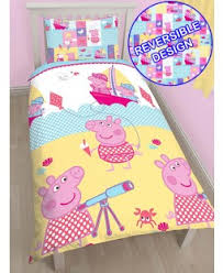 Peppa Pig Toddler Bed Set Peppa Pig Curtains Bedding Sets And Wallpaper