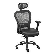 Big And Tall Office Chairs Amazon Amazon Com Black Polyurethane Big And Tall Mesh Chair With