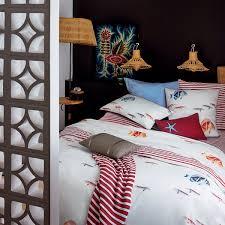 parure de lit olivier desforges escalette blanc linge de lit