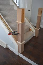 Craftsman Baseboard The Staircase Situation Craftsman Style Newel Post Construction