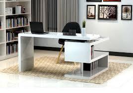 Modern Furniture Desk A33 Modern Office Desk White Home Office Desk With S Shape