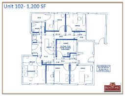 floor plan for office building wallen office building unit 201 2 625 sf keystone commercial realty