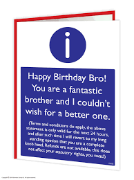 birthday cards cards for brothers birthday