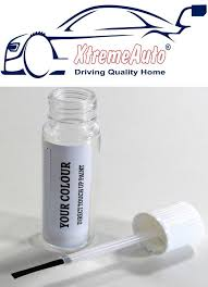 xtremeauto 12ml touch up paint bottle with a brush in the lid