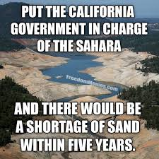 California Meme - the california government in charge of the sahara and there would