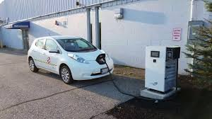 nissan leaf dc fast charge fast charging my leaf at lee nissan in auburn maine while enjoying