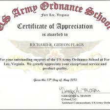appointment certificate template 30 military certificates templates military certificate image