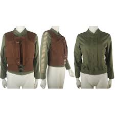 one a star wars story jyn erso cosplay costume jacket vest