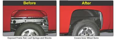 Rugged Liner Dealers Rugged Liner 2001 2007 Gmc Sierra 2500 3500 Rear Wheel Well Liners
