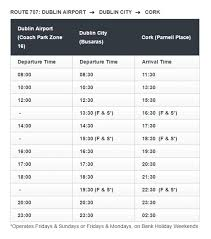 Dublin Bus 11 Timetable by Direct Galway To Dublin City U0026 Dublin Airport Bus Service Free Wi