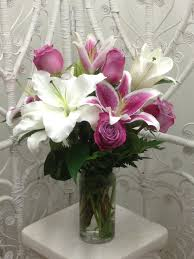 lavender roses sweet lavender roses and lovely lilies in arlington heights il