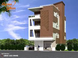 front elevation design uncategorized flat front elevation designs duplex floors cottage