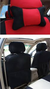 front 2 seat cover for ford focus fiesta kuga s max grey red