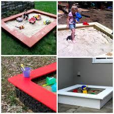 top 10 backyard sandbox ideas rhythms of play