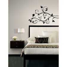roommates scroll branch foil leaves peel and stick wall decal roommates scroll branch foil leaves peel and stick wall decal