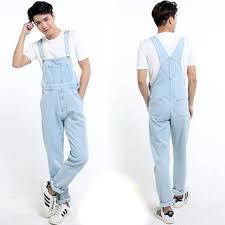 denim jumpsuit mens arrival s denim overalls washed light blue plus size
