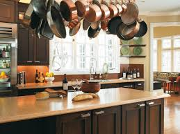 Kitchen Island Pot Rack Lighting Kitchen Room Fabulous Kitchen Pot Hanger With Lights Discount