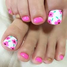 cute pedicure beauty pinterest pedicures flower and toe