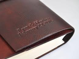 rustic leather photo album max latch italian rustic leather photo album bick bookbinding