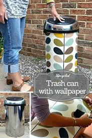 covered trash cans bathroom top 25 best trash can covers ideas on