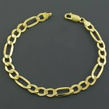 bracelet gold mens images 14k gold men 39 s figaro bracelet 8 5 quot only 598 00 top 50 jewelry